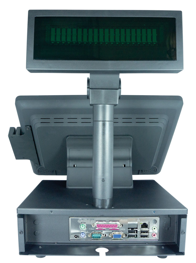 POS 15 inch Touch Screen, KILDAR DATATOUCH T1552 Back