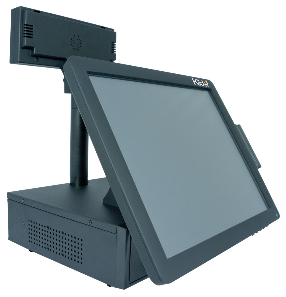 POS 15 inch Touch Screen, KILDAR DATATOUCH T1552 Right